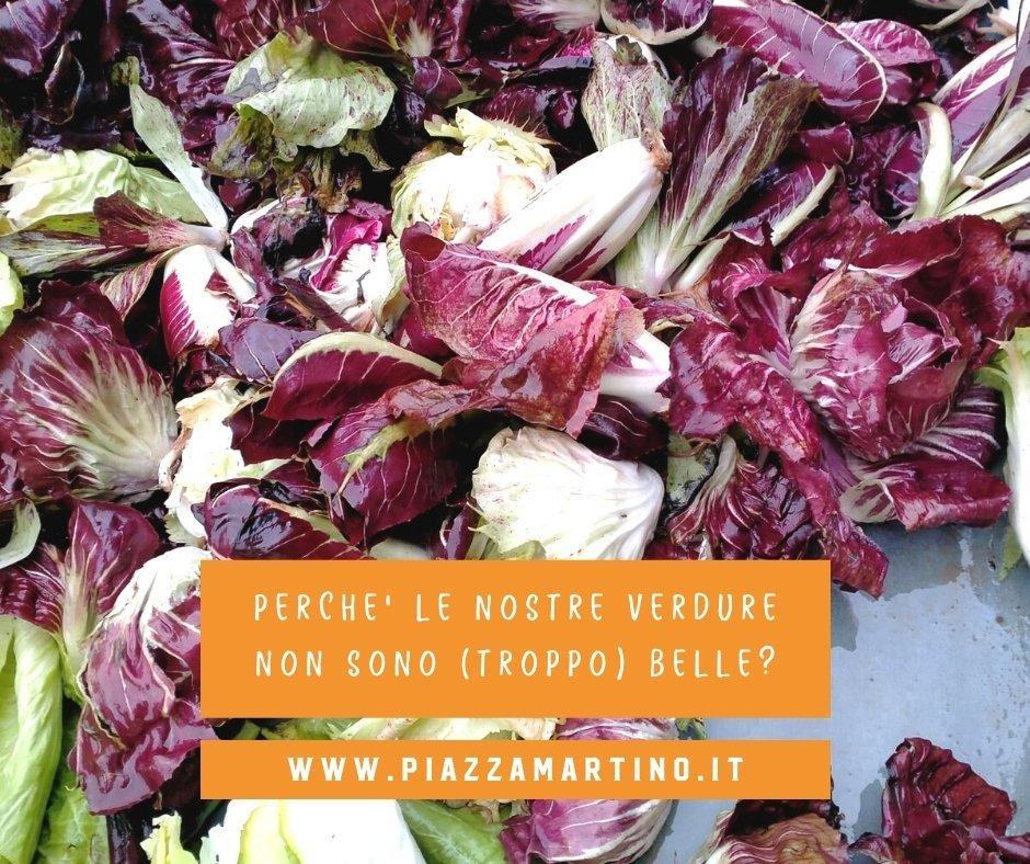 Le nostre verdure non sono (troppo) belle